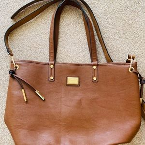 Calvin Klein leather bag tote new